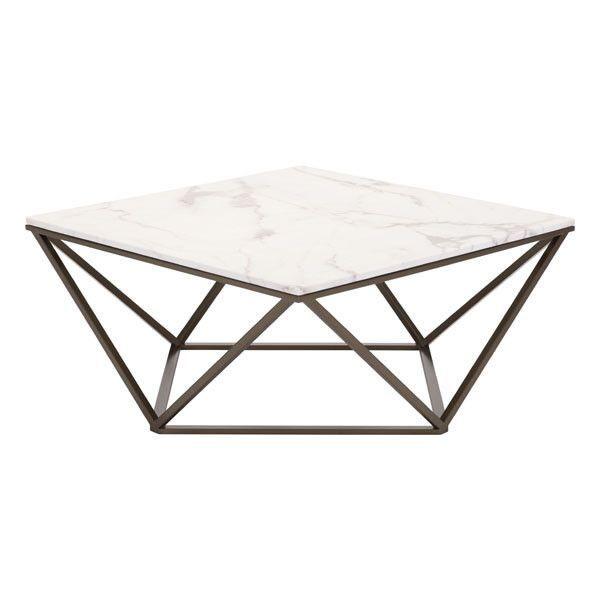 High Quality Mason Faux Marble Coffee Table