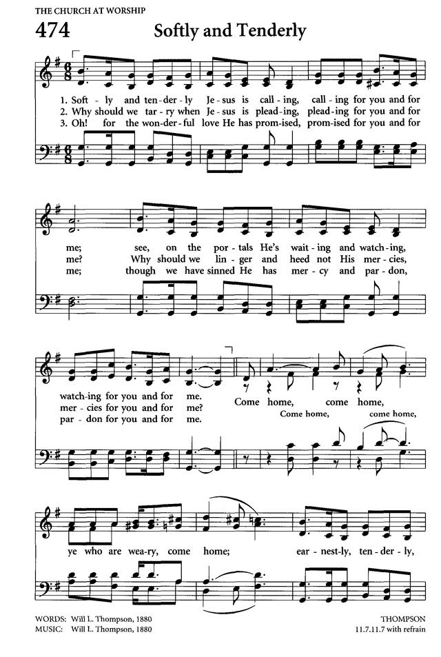 Celebrating Grace Hymnal page 444