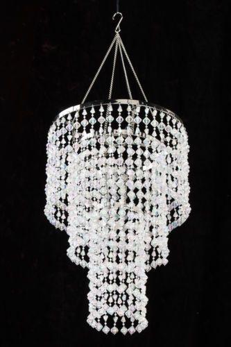 Simply Elegant Faux Crystal Decorative Chandelier Chandelier Diy Crystal Crystal Chandelier Chandelier Decor