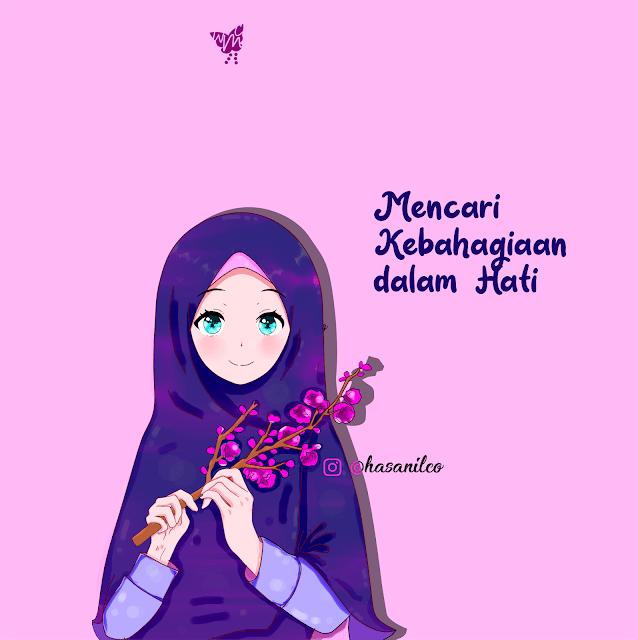 Wallpaper Iphone Cute Girl Muslimah Novocom Top