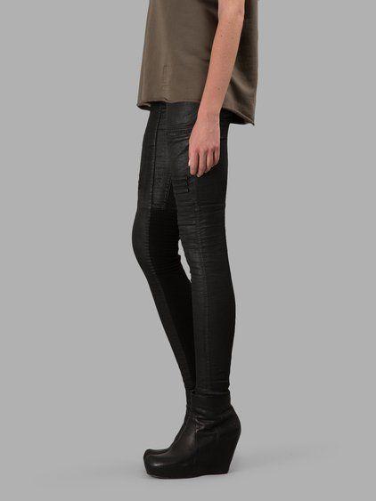 289f2581ca1 RICK OWENS DRKSHDW Rick Owens Drk Shdw Women S Black Nagakin Leggings.   rickowensdrkshdw  cloth  jeans