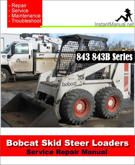 Array - download bobcat 843 843b skid steer loader service repair      rh   pinterest com