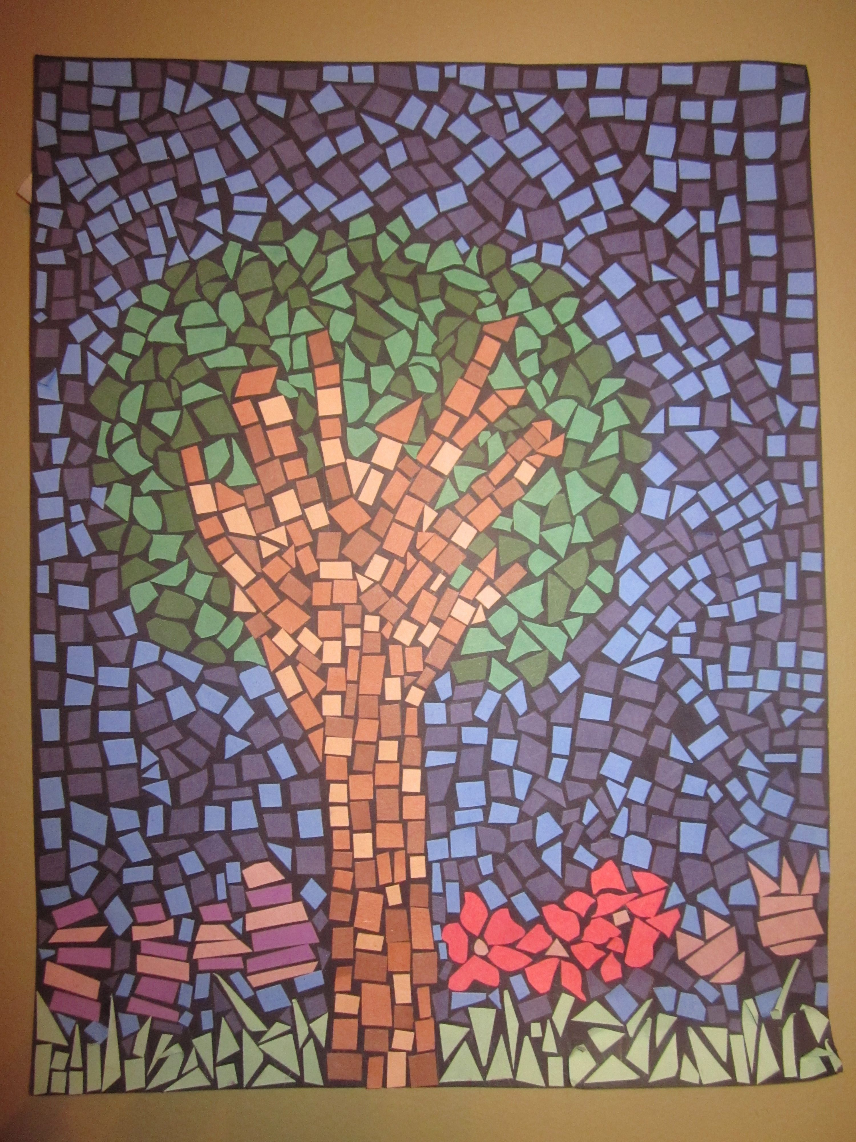 Arts And Crafts Mosaic Tiles