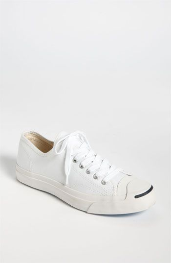 "Classic Converse ""Jack Purcell"" these are the best. They go with everything and can throw in the wash...NO bleach! They are my ""go to"" and I always feel great in them. Worth the money! White of course."