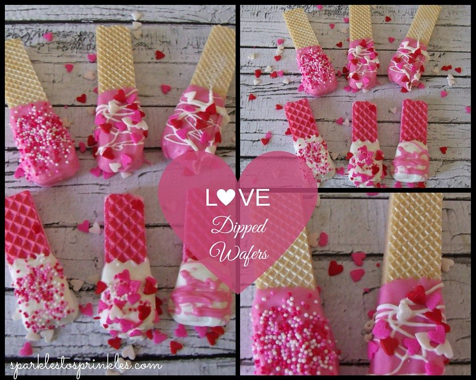 Love Dipped Wafers - Sparkles to Sprinkles