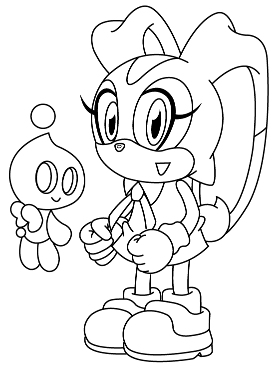 Sonic Cream Coloring Pages Coloring Pages Hedgehog Colors Coloring Pictures For Kids