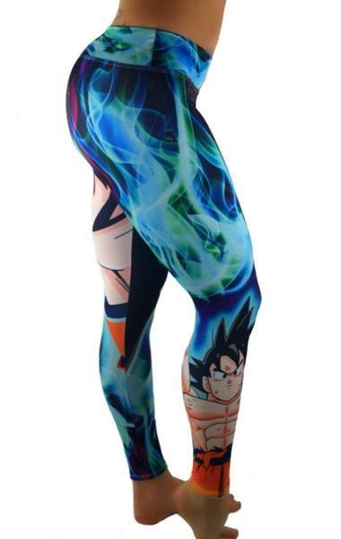 9818519c5c S2 Activewear - UNISEX Dragon Ball Z Goku Leggings - Roni Taylor Fit - 2