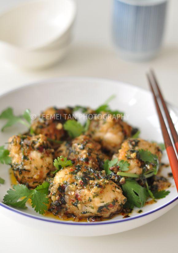 Coriander & Chili Monkfish Cheeks Stir-Fry | Coriander ...