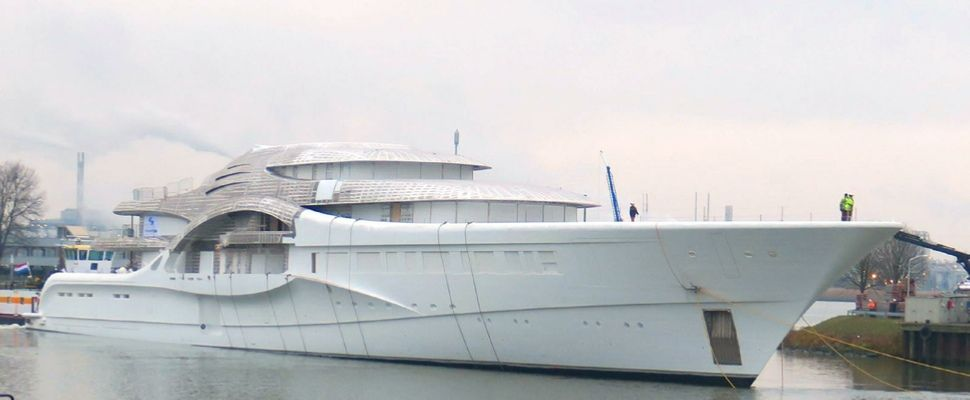 Feadship 110 meter project #1007 is the new yacht for Dmitry