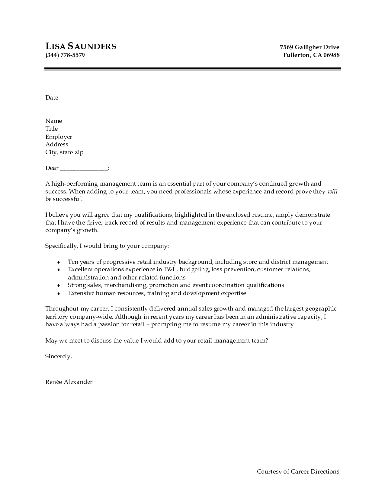 Cover Letter Sample For Doc Templates Template Example Document
