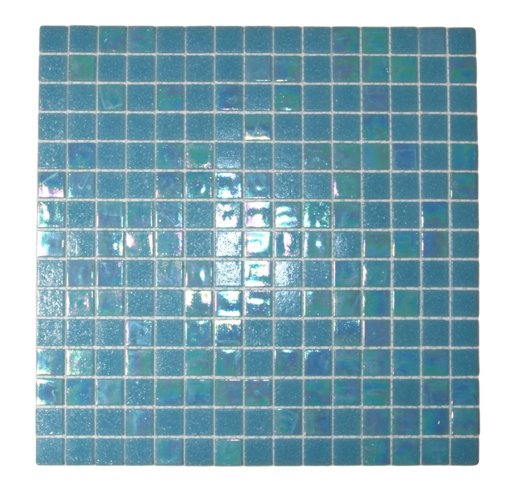 Mixed Pacific Blue Glimmer Glass Tile | Pinterest | Pacific blue ...