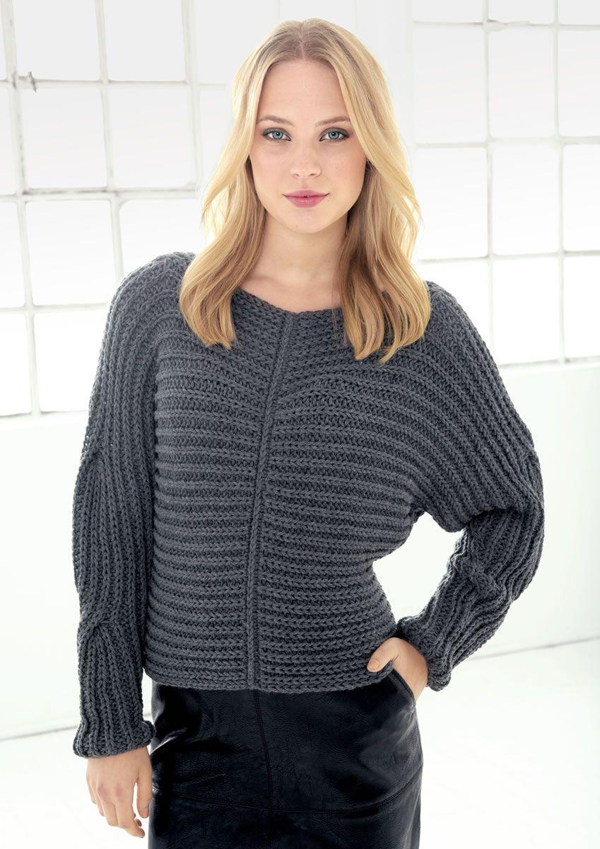 Lana Grossa PULLOVER Brigitte No. 1   Das Ist Trend   Modell 17   FILATI