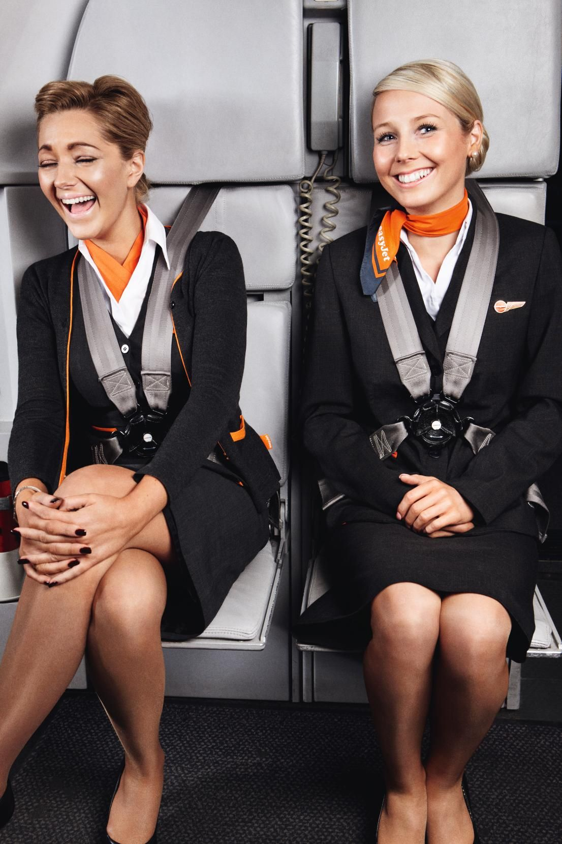 Airline Milf easyjet : smiling on board | flight attendant life, airline