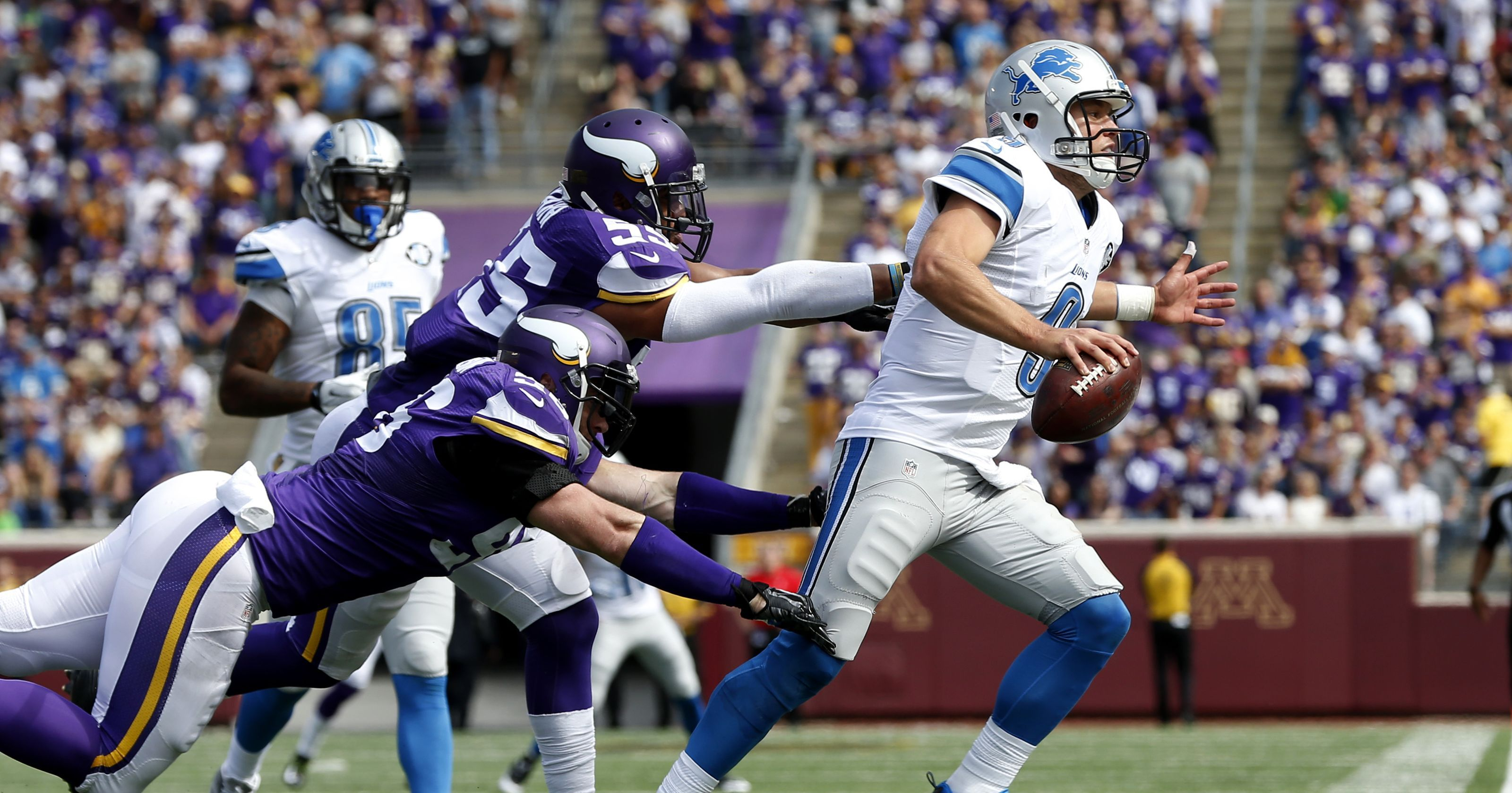 The NFC North takes centerstage in Week 9 as the Vikings