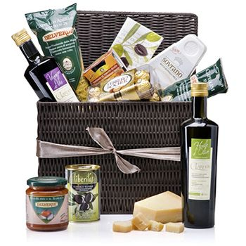 Dinner From Italia Gift Basket Gourmet To Hong Kong