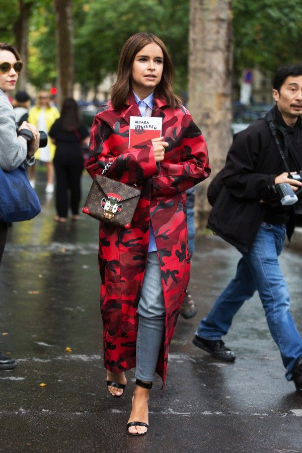 8 Statement Coats To Help You Survive Winter | The Zoe Report - The Bold Pattern Coat