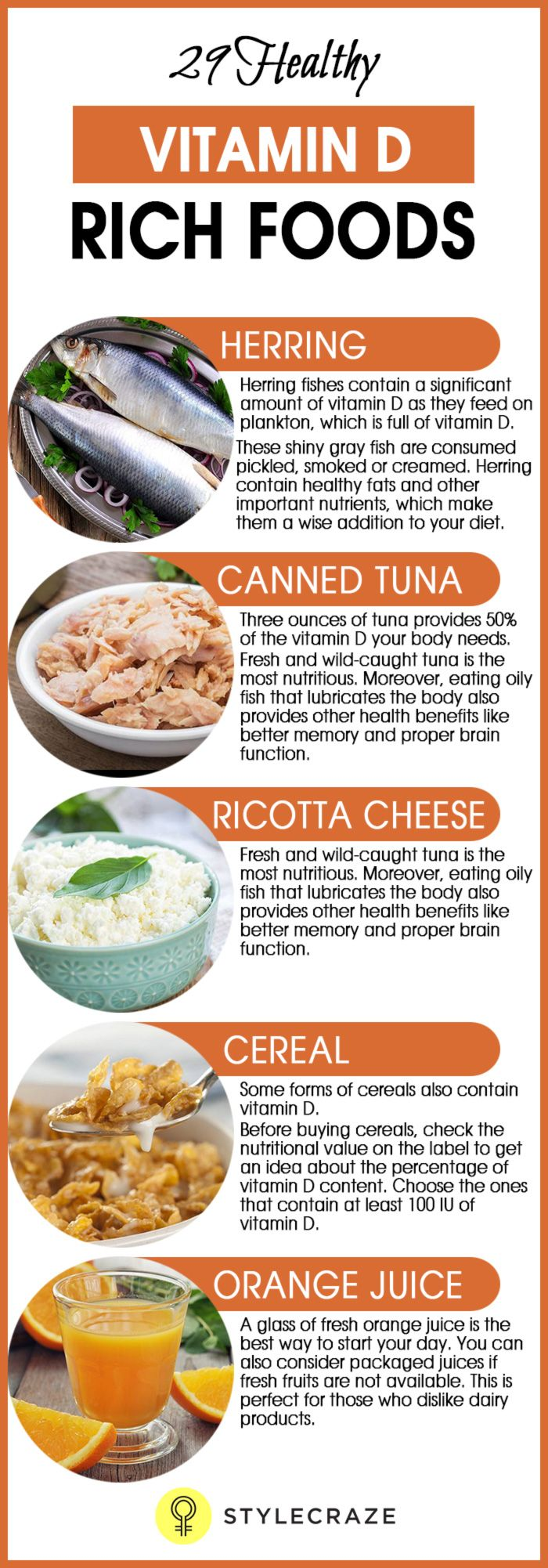 Foods Rich In Vitamin D: 29 Healthy Vitamin D-Rich Foods