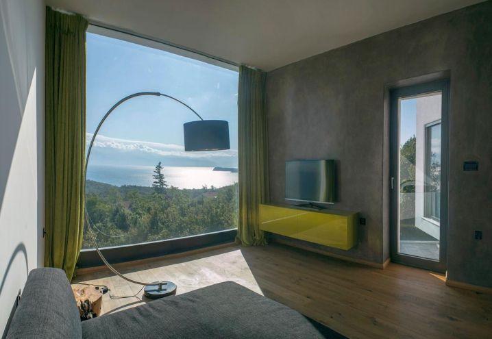 villa-con-piscina-terrazza-sbalzo-croazia-camera-da-letto ... - Camera Da Letto Con Piscina