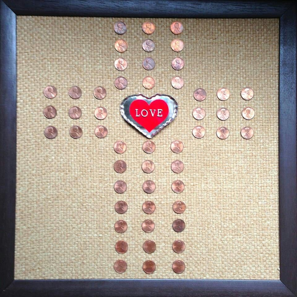 Gifts For Wedding Anniversaries For Each Year: 50th Wedding Anniversary Gift. One Penny Dated From Each
