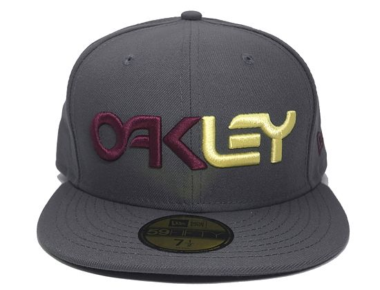 Factory Shadow 59Fifty Fitted Baseball Cap by OAKLEY x NEW ERA ... ece555acea9