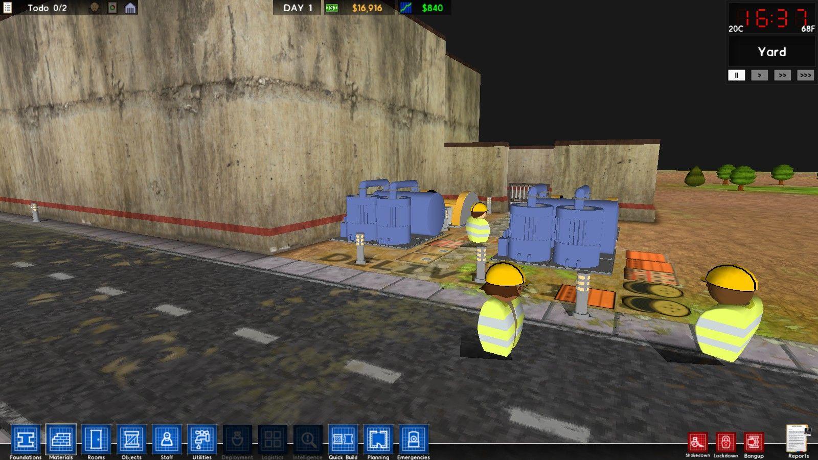 Hidden 3d Mode In Prison Architect!
