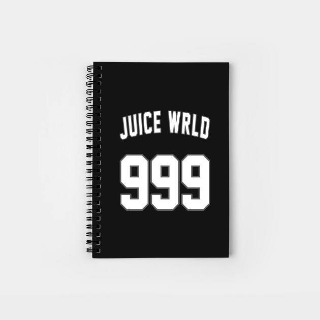 Juice Wrld 999 Juice Wrld 999 Notebook Teepublic