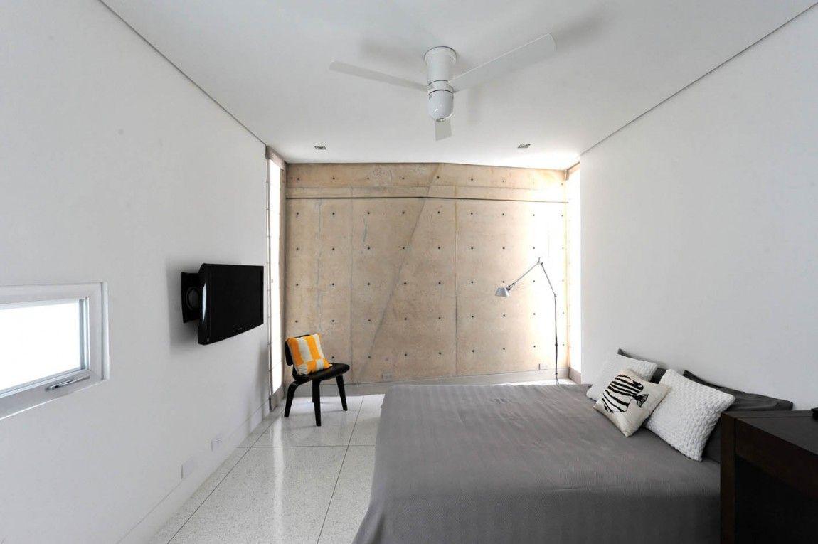 Bedroom 1 Minimalist Interior casa marcoleman-davis pagan arquitectos | bedrooms 1