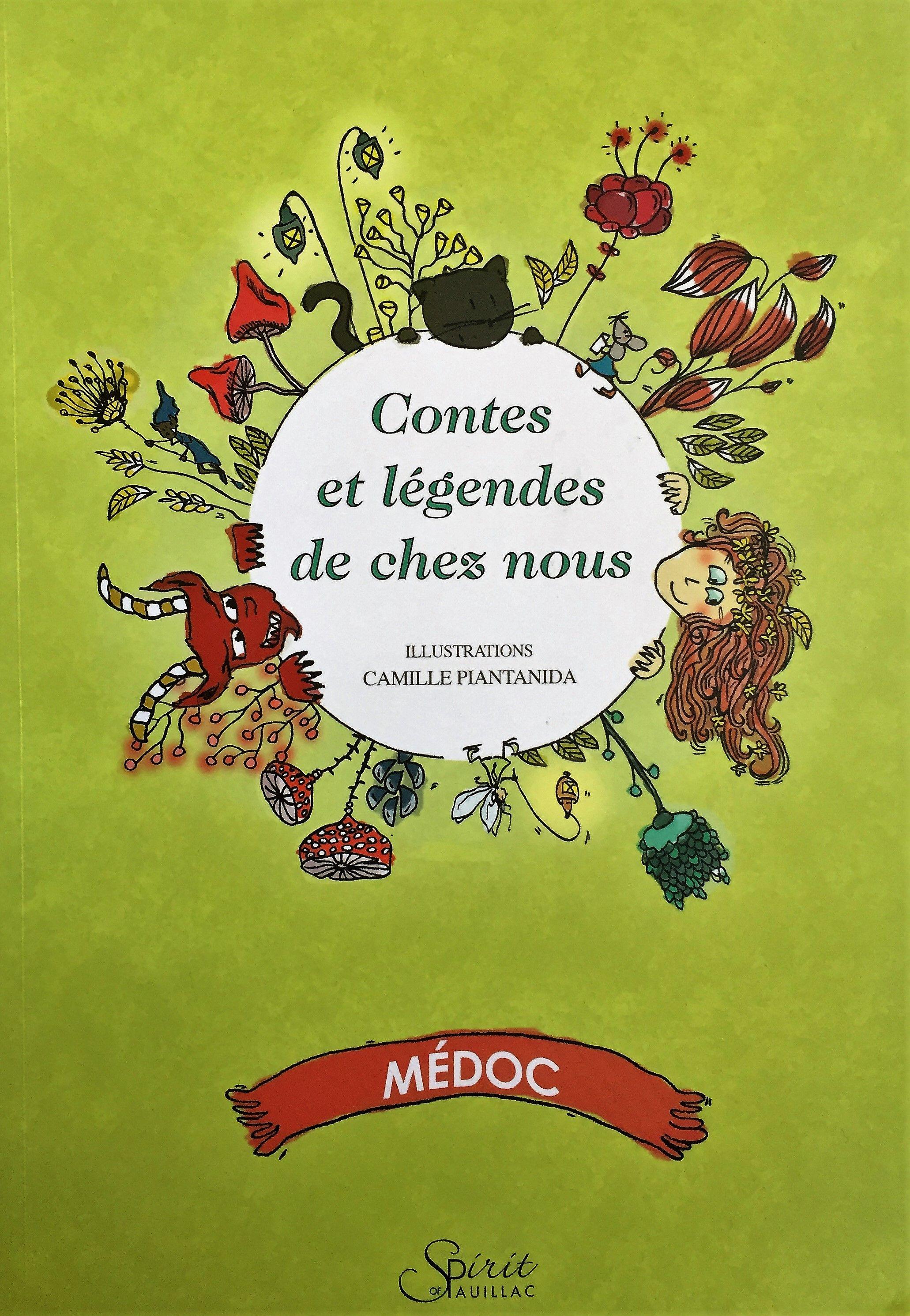 Contes Et Legendes De Chez Nous Dans Le Medoc Editions Spirit Of Pauillac J Ai Fait Les Illustrations Camille Pi Contes Et Legendes Conte Illustrations