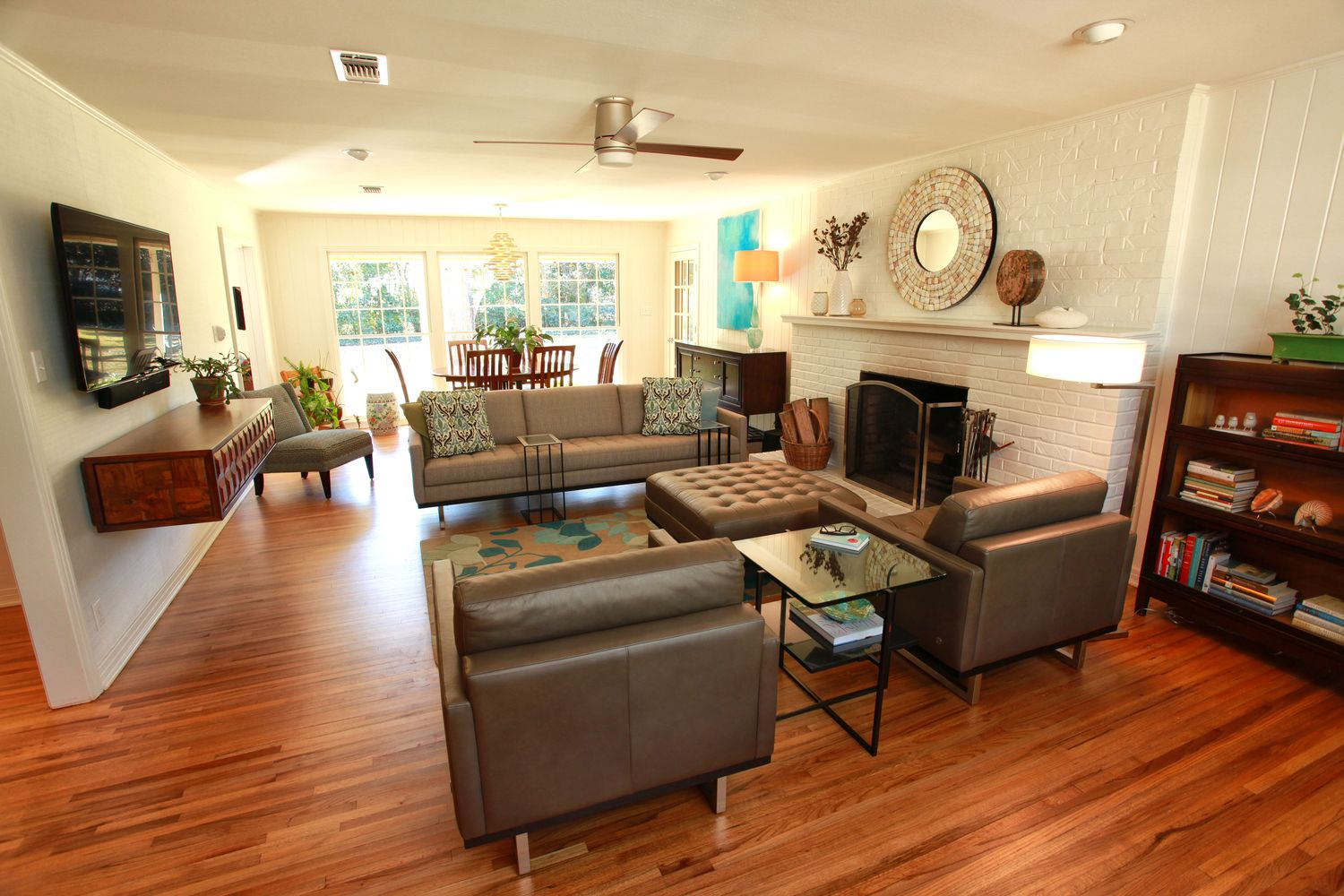 How To Arrange Furniture In A Narrow Living Room | Long ...