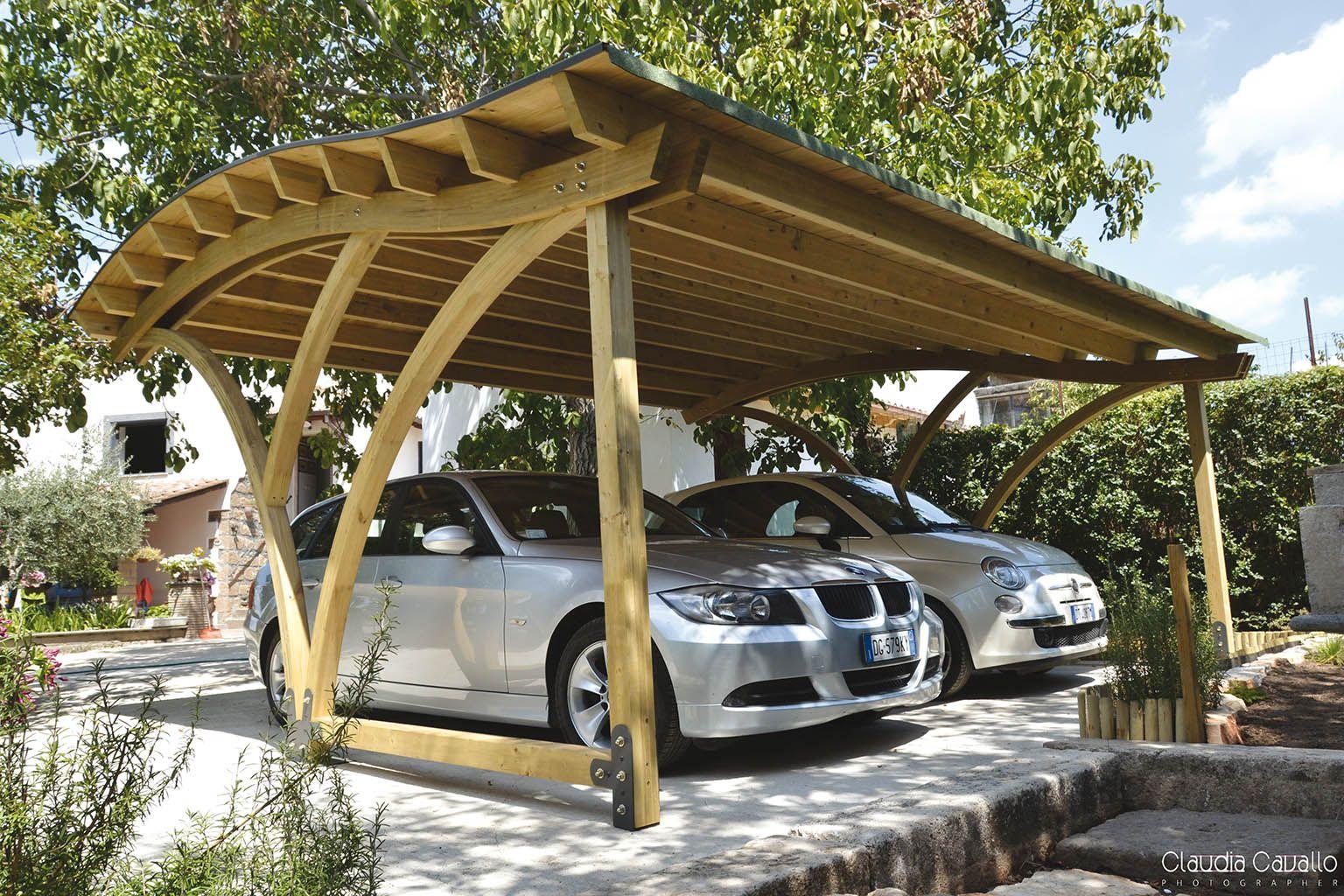 Wooden Carport Design F Lli Aquilani Arredo Giardino