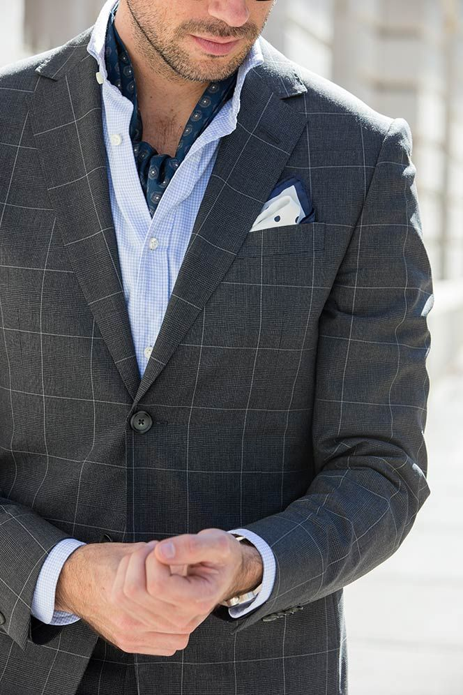 Wearing an Ascot or Cravat - Fall Outfit Ideas - He Spoke Style   Mens  scarf fashion, Stylish mens fashion, Mens outfits