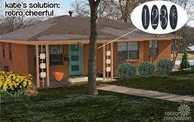 Image Result For Mid Century Orange Brick House
