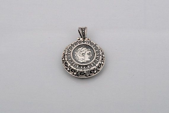 Handmade Sterling Silver 925 Byzantine Style by ExclusiveSilverArt