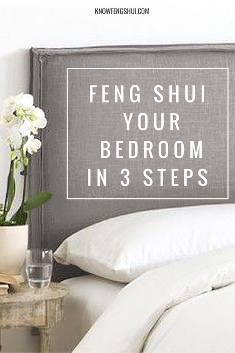Understand what makes a good feng shui bedroom and use these 3 simple steps to create good feng shui in your own bedroom.