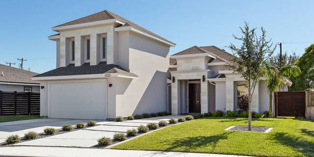 Take A Look At This Gorgeous Custom Built Home Nestled In A Quiet And Welcoming Subdivision Oak Tree Thi With Images Custom Built Homes Custom Built Cabinets Patio Slabs