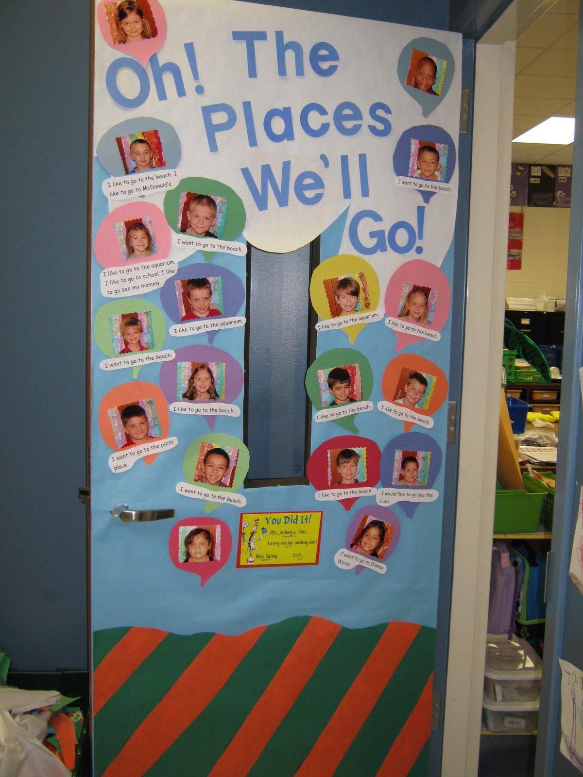 Classroom Ideas To Go ~ Oh the places you ll go classroom theme google search