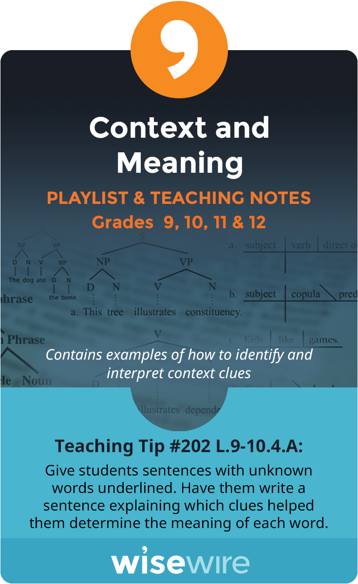 Context Clues Mini Lesson - Free Educational videos for