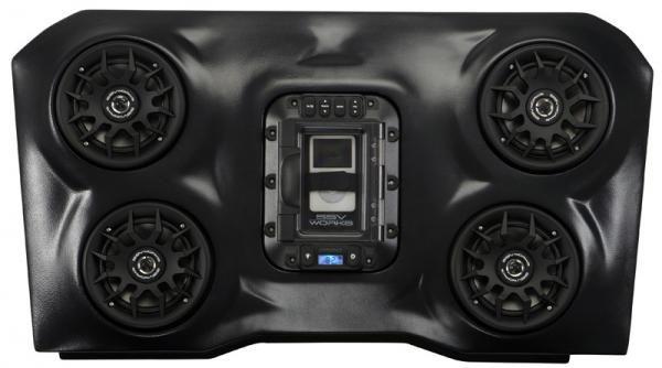 Ssv Works Rzr Xp 1000 Overhead Stereo System Polaris Rzr