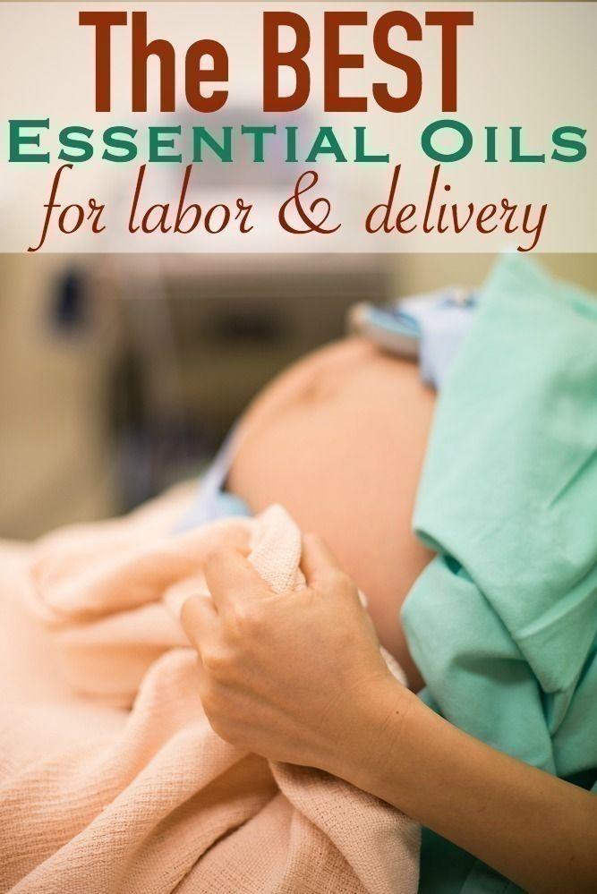 The BEST Essential Oils for Labor & Delivery