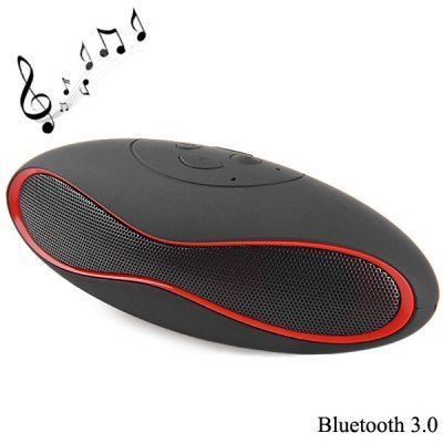 X6U sem fio Bluetooth 3.0 telefone mãos livres Speaker Stereo Audio Player Built-in bateria de lítio