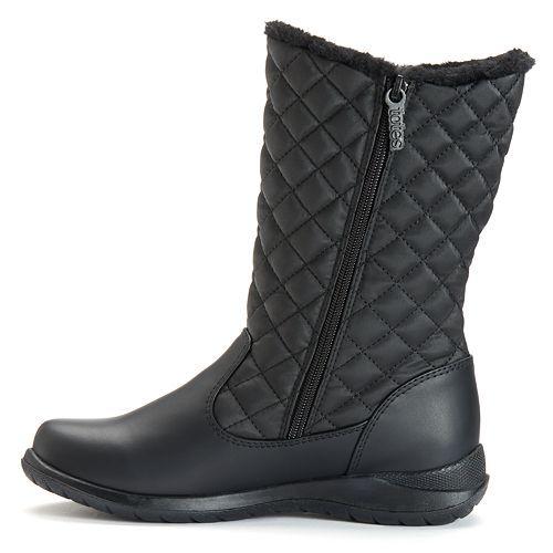Waterproof Double Zip Boots