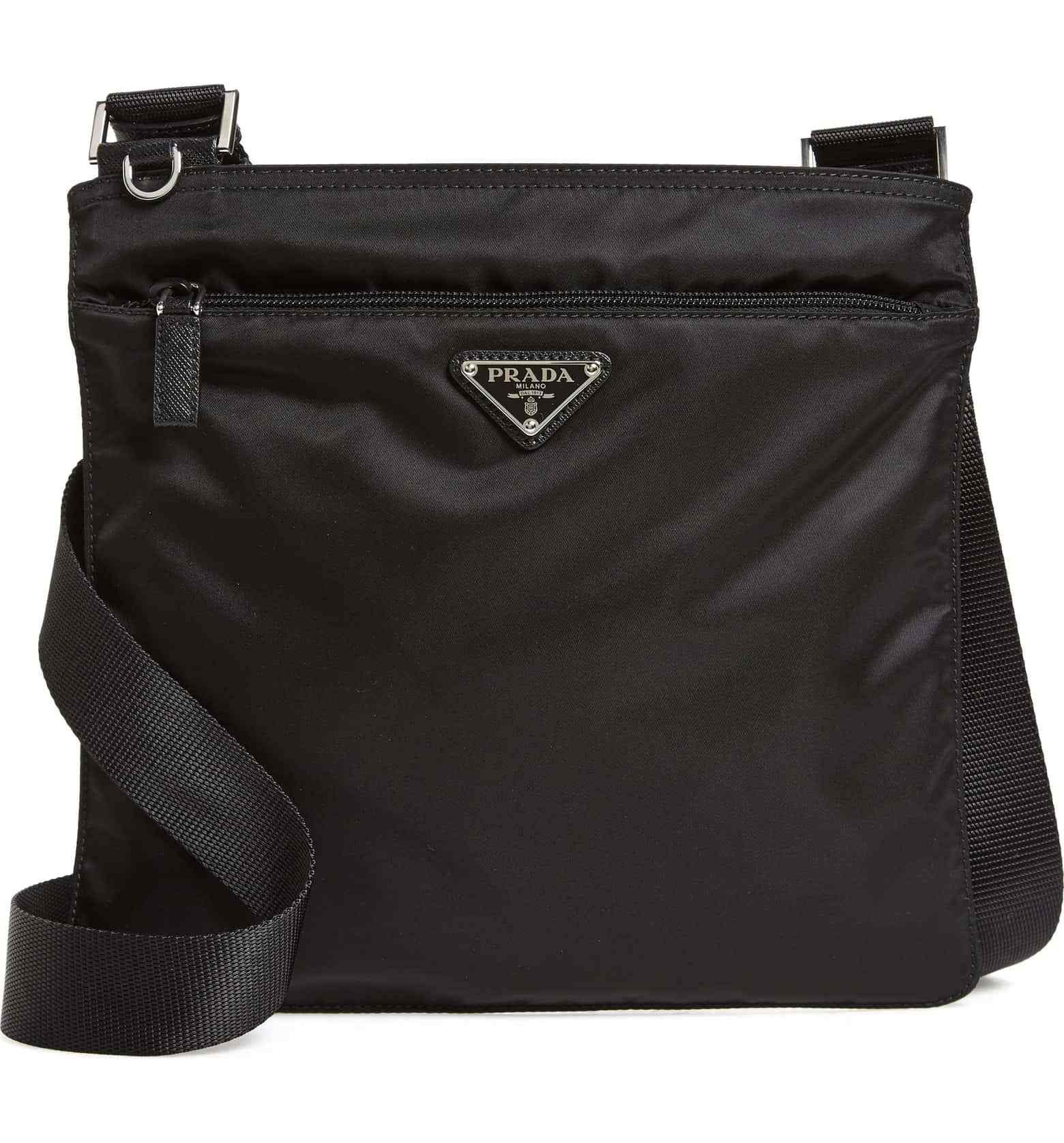 3b7276ea05 Amazing Prada Crossbody Bag Vela Flat Nylon with vintage feel.  prada   logobag  crossbody  bag  designer  bags  vintage  shopthelook  style ...