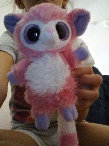 eaa6d48b7b2 Pinky make noise and a beanie boo