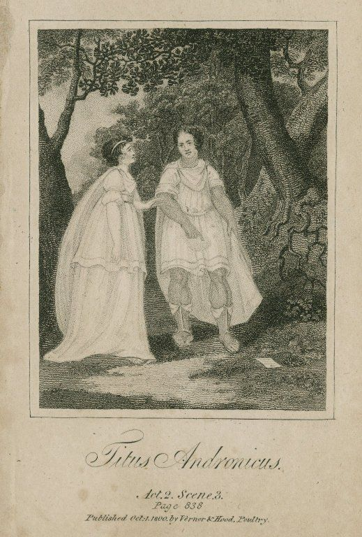 0010 Titus Andronicus. Act 2, Scene 3. Published by Vernor