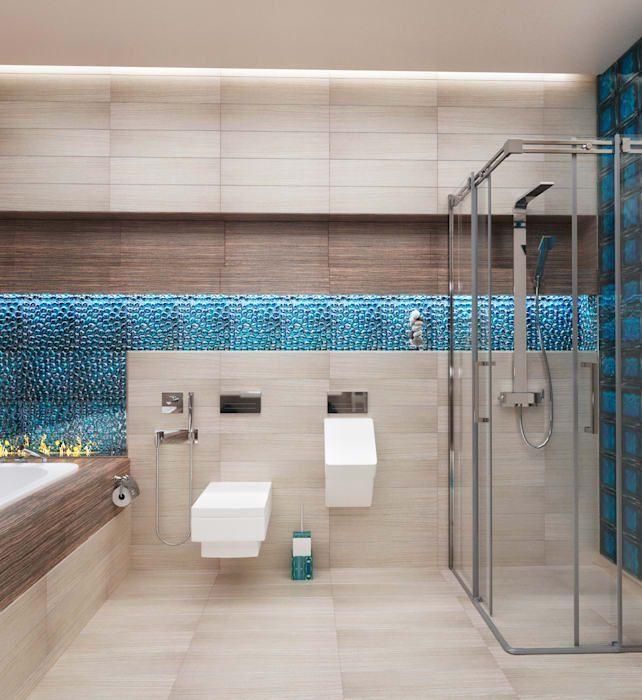 Moderne badezimmer von настасья евглевская modern keramik