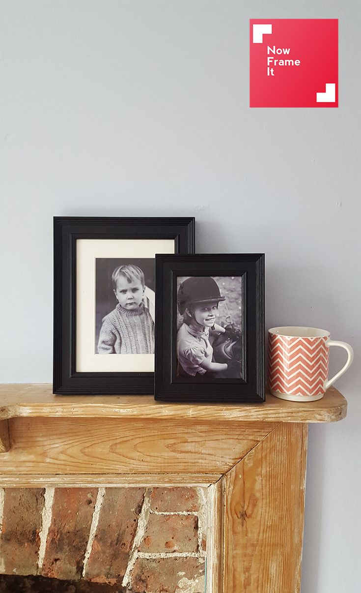 The Deco in black is a strong classic frame and looks great with black and white photos. Frame your fave photo in the Deco at nowframeit.com