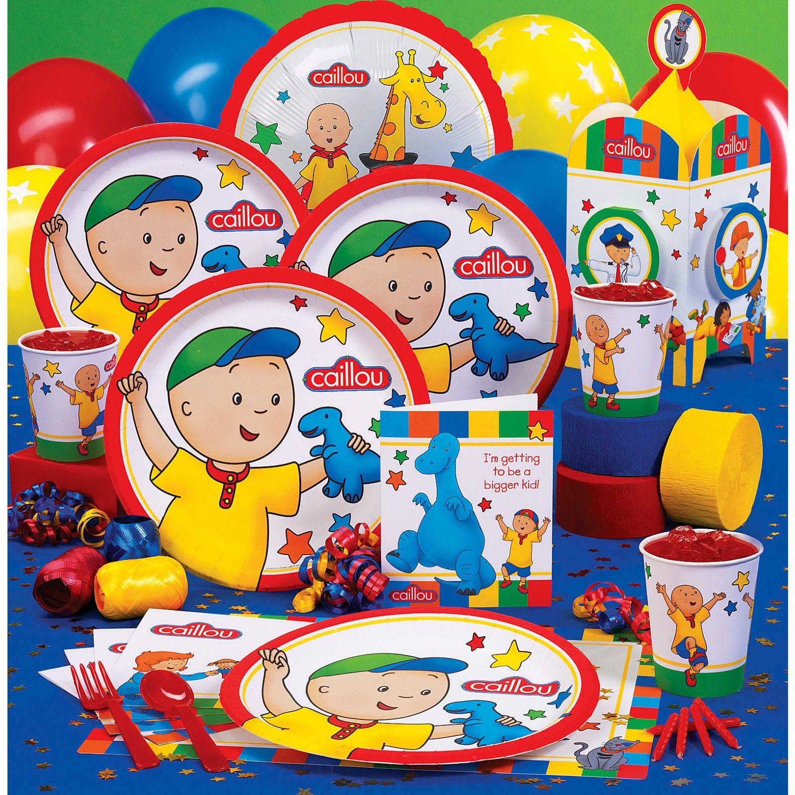 Image Result For Calliou Birthday Supplies