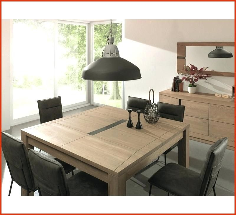 Table De Salle A Manger Carree Avec Rallonge Mid Century Modern Bedside Table Table Dining Table