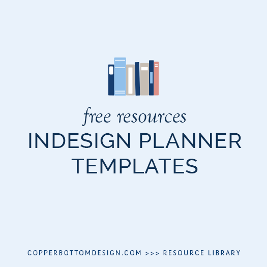 indesign planner templates student centered resources planners