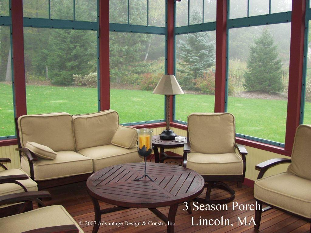 3 Season Porch Interior  3 & 4 Season Rooms Photo Gallery  Archadeck Of  Suburban